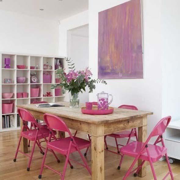 Inspire-se decorando a casa com tons de rosa 003