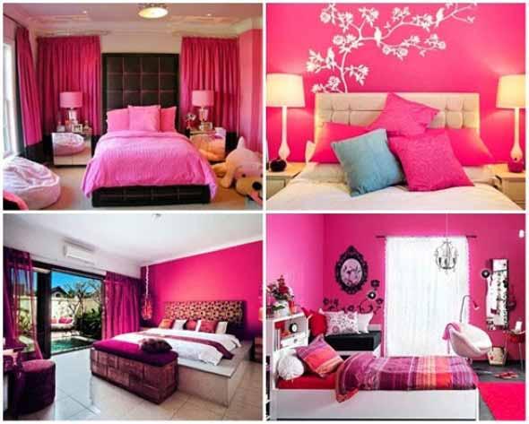 Inspire-se decorando a casa com tons de rosa 004