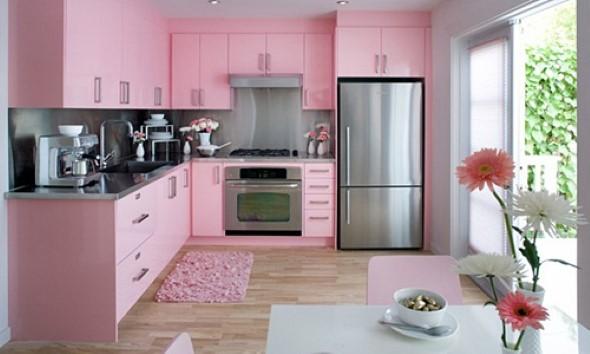 Inspire-se decorando a casa com tons de rosa 005