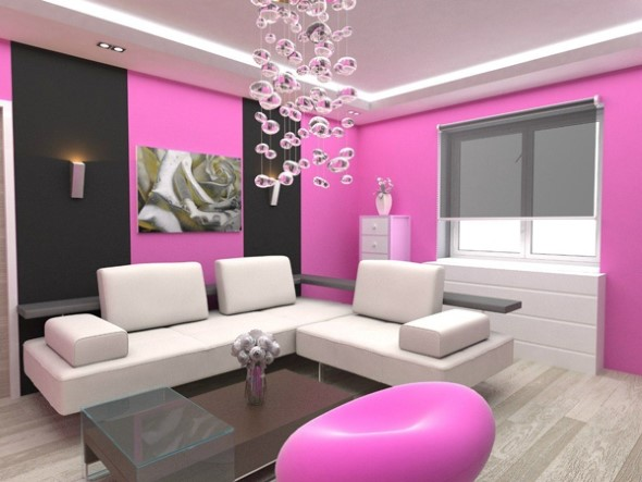 Inspire-se decorando a casa com tons de rosa 012