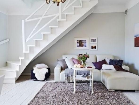 Modelos de escadas casas pequenas 010