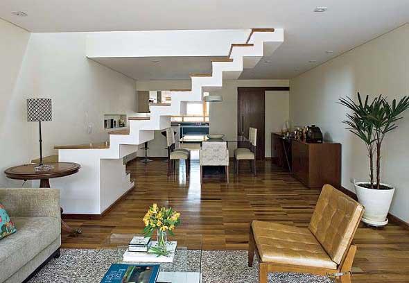 Modelos de escadas casas pequenas 019