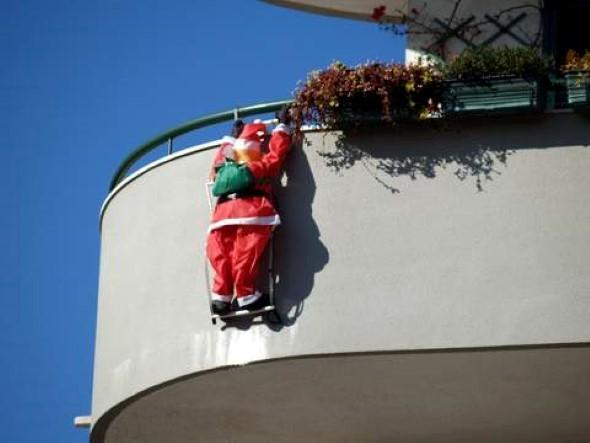 Papai Noel na decoração de natal 004