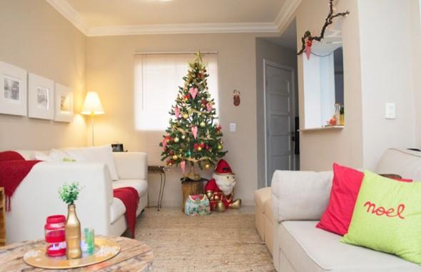 Papai Noel na decoração de natal 009