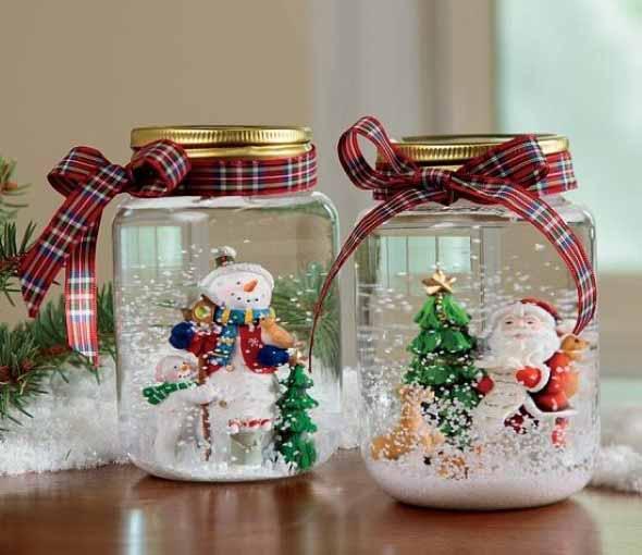 Papai Noel na decoração de natal 015