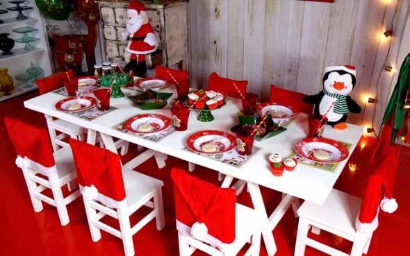 Papai Noel na decoração de natal 018