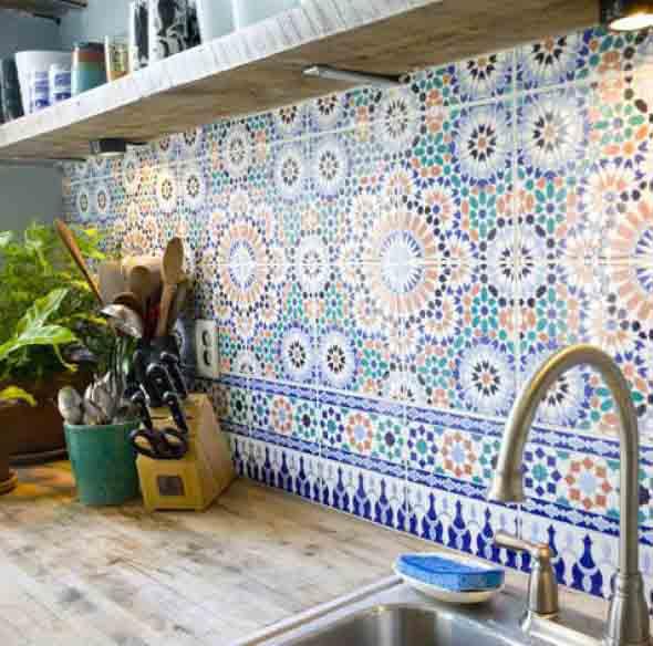 Azulejos estampados na cozinha 004