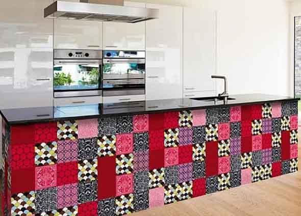 Azulejos estampados na cozinha 018