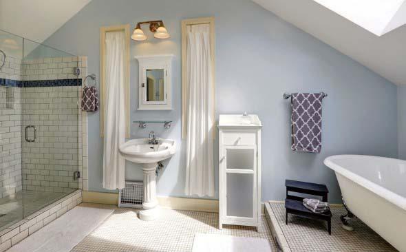 Banheiro em estilo retro 001