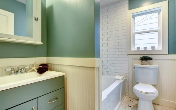 Banheiro em estilo retro 003