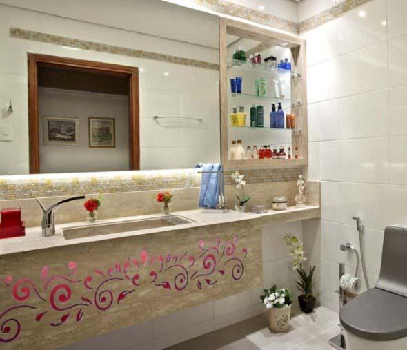 Banheiro em estilo retro 009