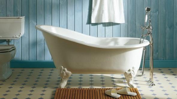 Banheiro em estilo retro 010