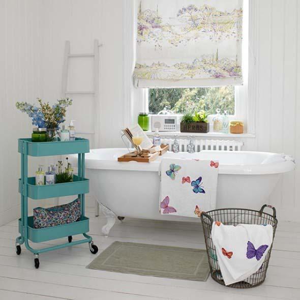 Banheiro em estilo retro 018
