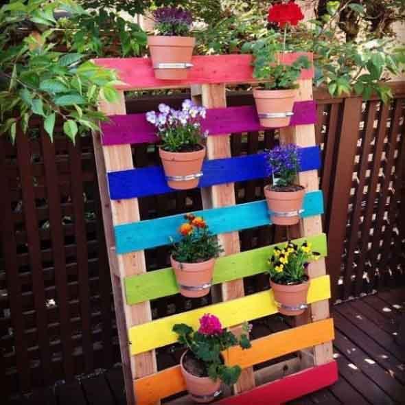 Como organizar flores com vasos artesanais 006