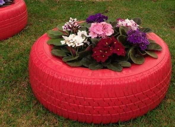 Como organizar flores com vasos artesanais 009