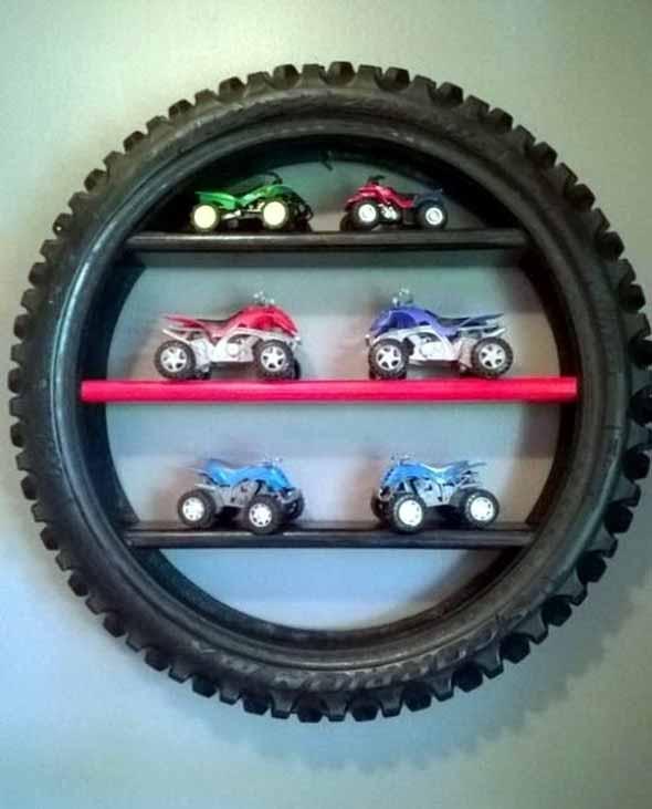 Ideias de decoração com pneus 008