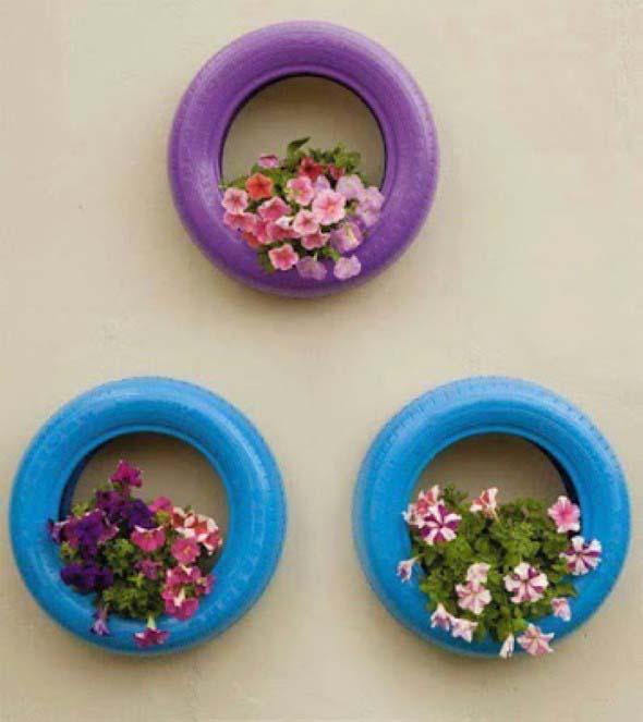Ideias de decoração com pneus 009