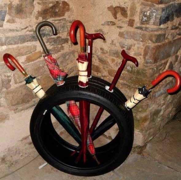 Ideias de decoração com pneus 015