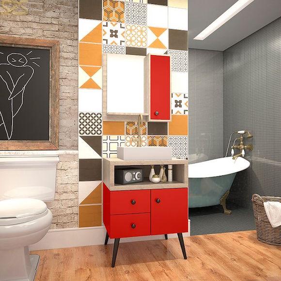 banheiro estilo retro 1