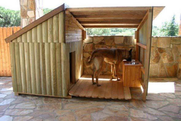 Casinhas de cachorro cheias de estilo 012