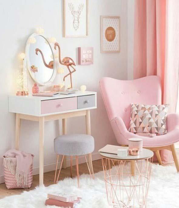 Flamingos na decoração 014