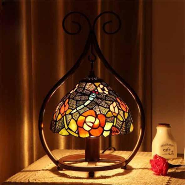 Luminárias de mesa criativas 003
