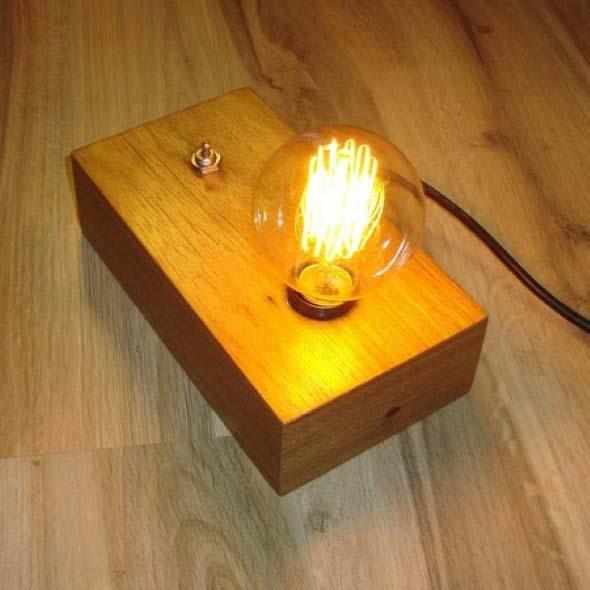 Luminárias de mesa criativas 015
