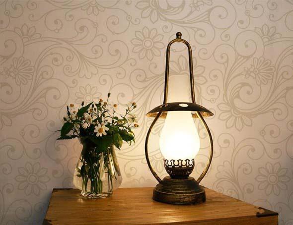 Luminárias de mesa criativas 017