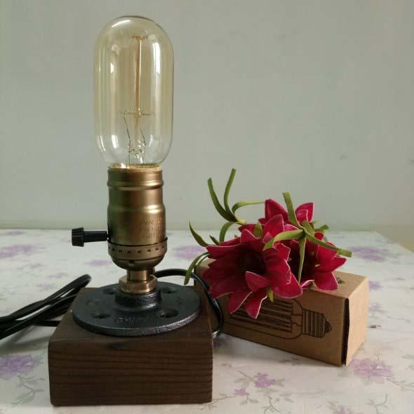 Luminárias de mesa criativas 018