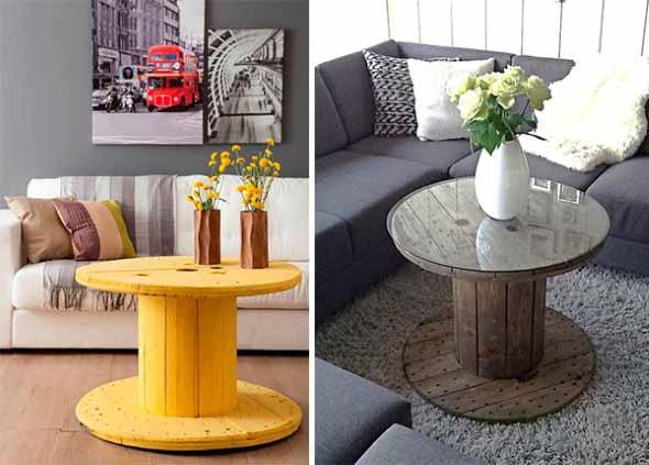 Modelos charmosos de mesas de carretéis 004