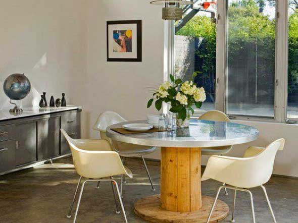 Modelos charmosos de mesas de carretéis 006