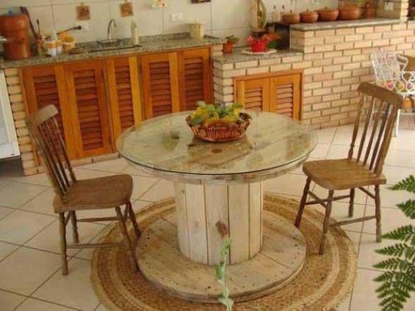 Modelos charmosos de mesas de carretéis 011