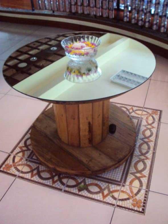 Modelos charmosos de mesas de carretéis 014