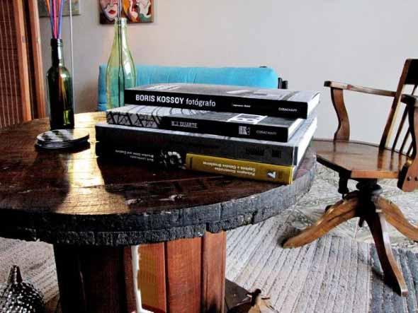 Modelos charmosos de mesas de carretéis 018