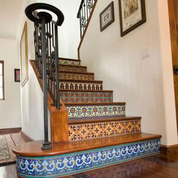 Personalizar degraus da escada 005