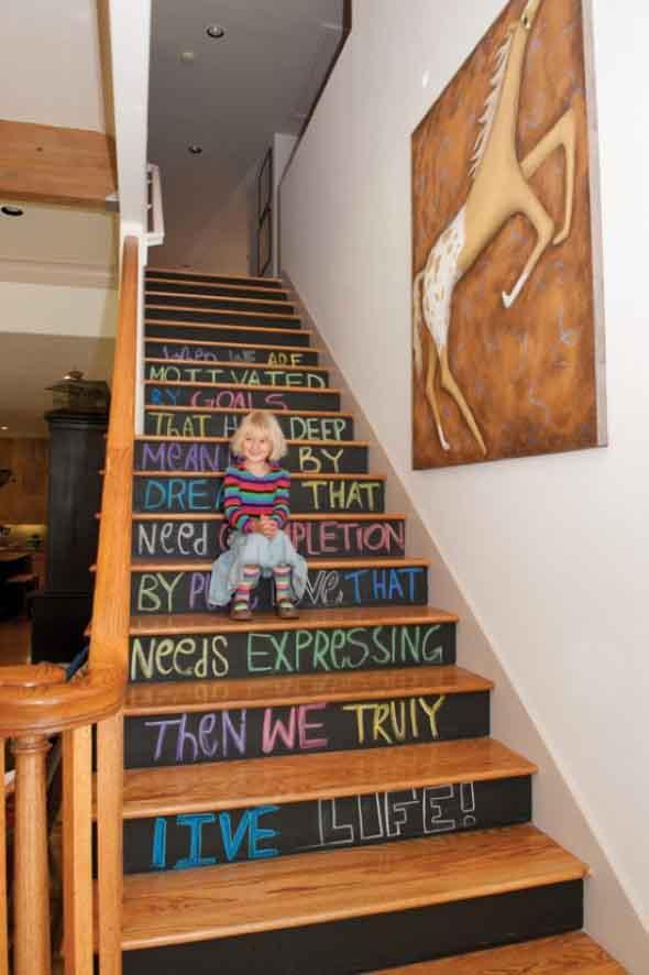 Personalizar degraus da escada 015