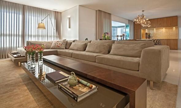 Sofá grande para sala de estar 003