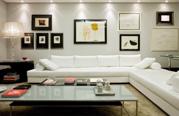 Sofá grande para sala de estar 005