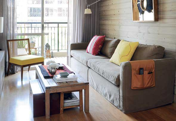Sofá grande para sala de estar 006