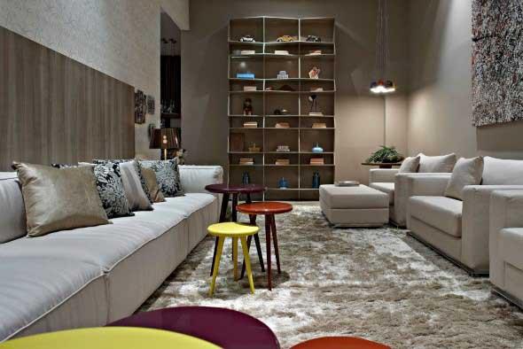 Sofá grande para sala de estar 008