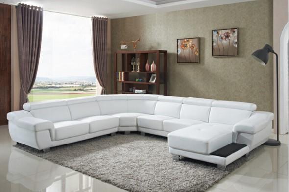 Sofá grande para sala de estar 009