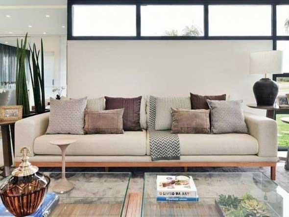Sofá grande para sala de estar 010