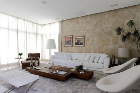 Sofá grande para sala de estar 014