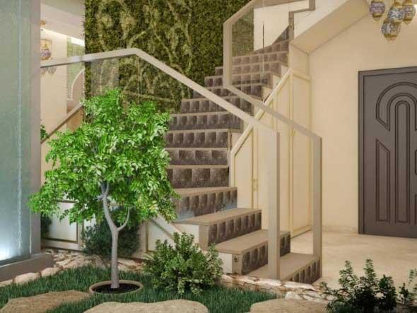 Árvore dentro de casa 013