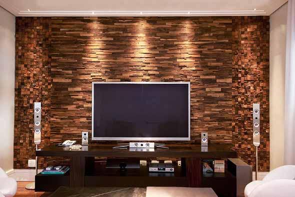 Como revestir paredes com blocos de madeira 017