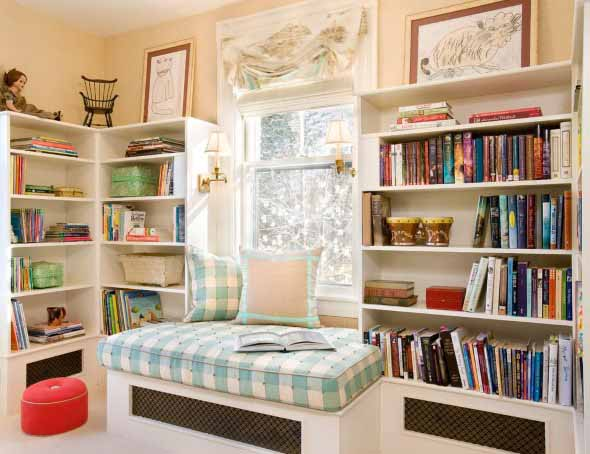 Como ter uma biblioteca em casa 011