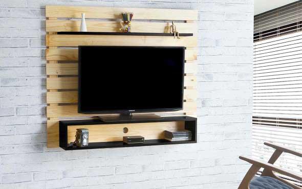 Decoração com TVs espalhadas pela casa 007