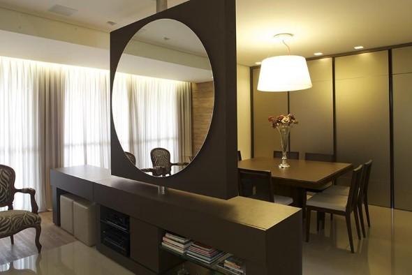 Decorar a casa com espelhos redondos 023