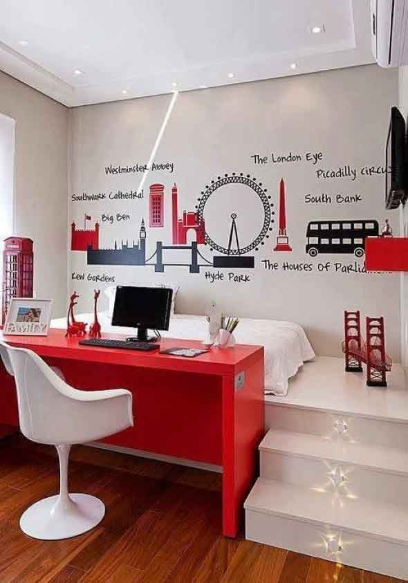 Dicas para usar vermelho na decoração 001