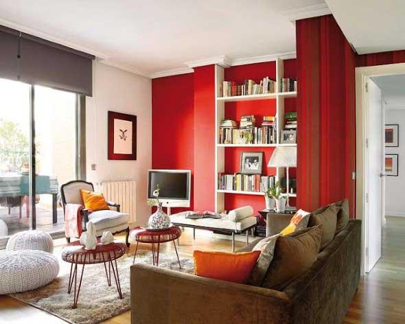 Dicas para usar vermelho na decoração 019